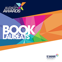 AUDACITY AWARDS Book lauréats